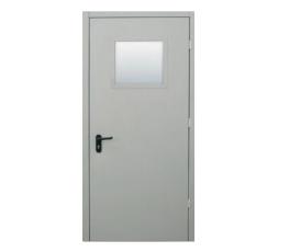 Дверь противопожарная остекленная