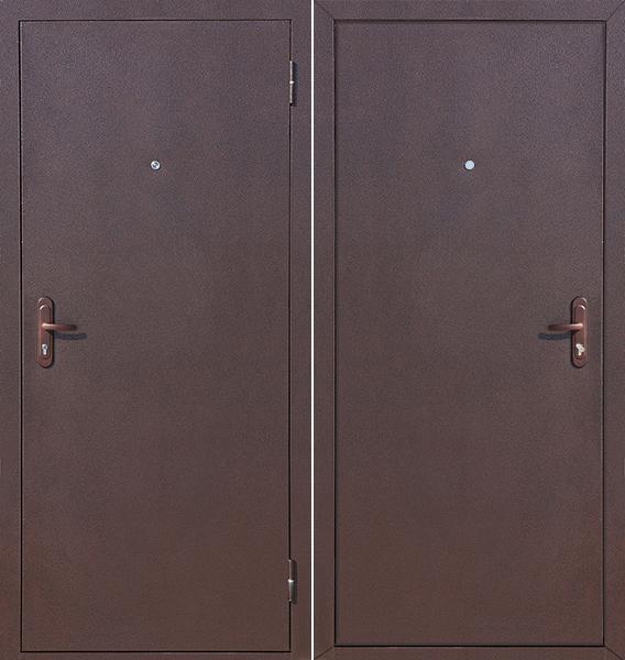 Сейф двери Стройгост 7-1 Металл - металл