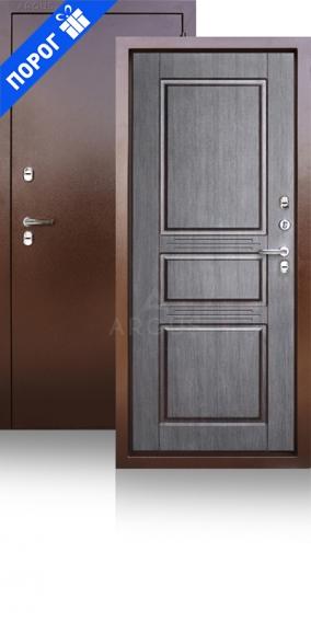 Дверь с терморазрывом Тепло 5 Венге