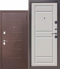 Сейф двери Троя 10 см беленый дуб