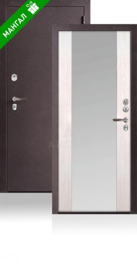 Двери с зеркалом Да 66