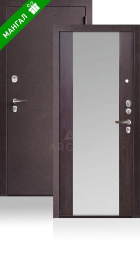 Двери с зеркалом Да 66-1