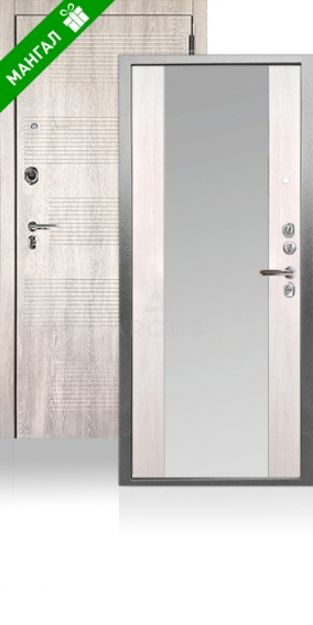 Двери с зеркалом Да 76-1