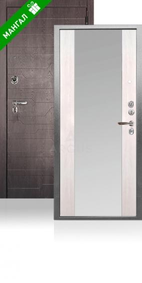 Двери с зеркалом Да 76-2