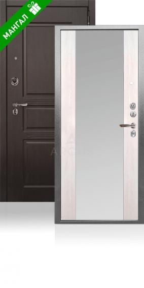 Двери с зеркалом Да 76-3