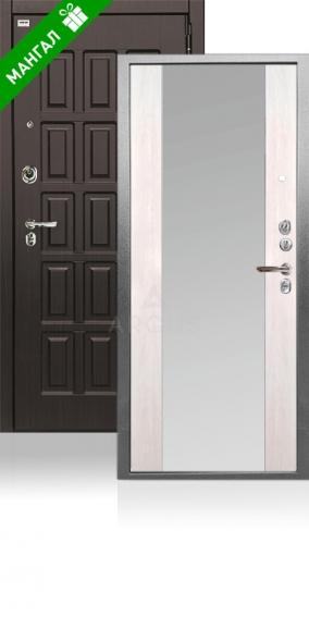 Двери с зеркалом Да 76-4