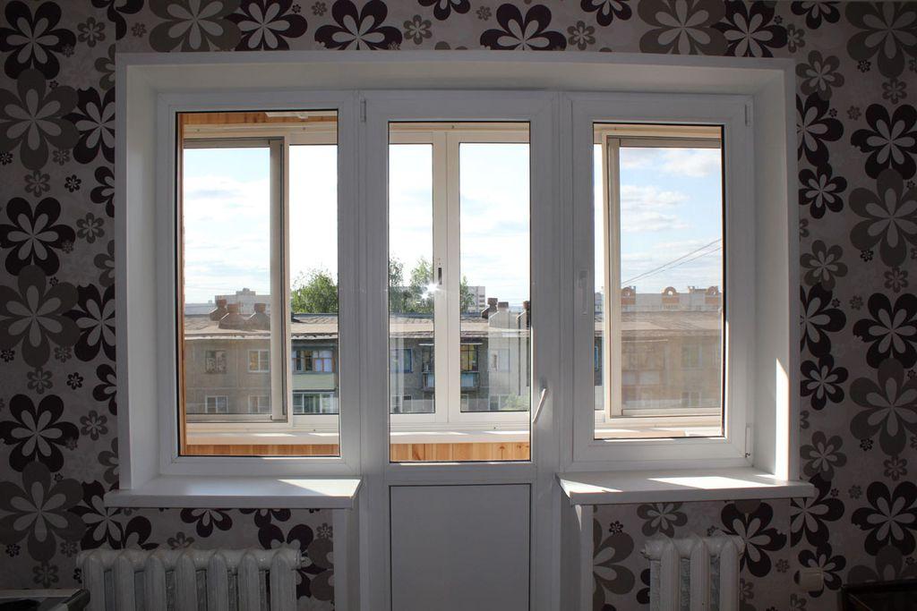 Заказать балконный блок
